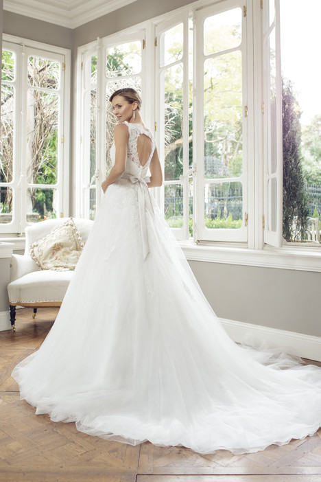 M1450Z (back) gown from the 2014 Mia Solano collection, as seen on Bride.Canada