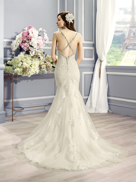 H1281 (back) gown from the 2015 Moonlight : Couture collection, as seen on Bride.Canada