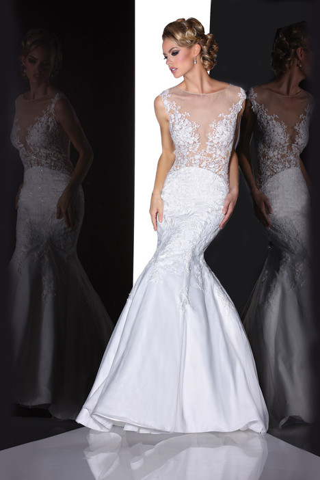 90201 gown from the 2015 Simone Carvalli collection, as seen on Bride.Canada