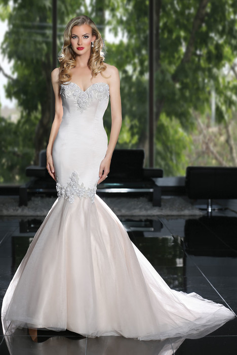 90219 gown from the 2015 Simone Carvalli collection, as seen on Bride.Canada