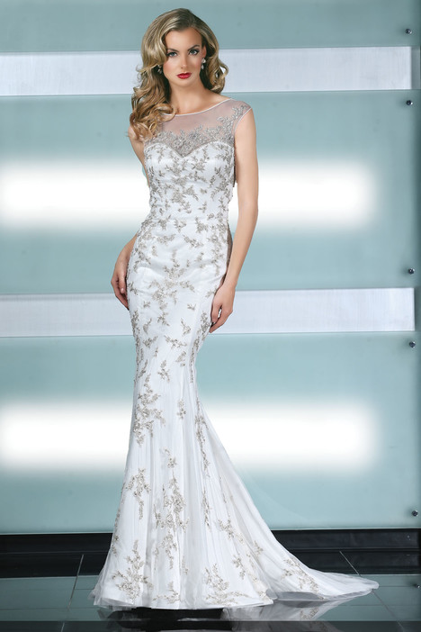 90223 gown from the 2015 Simone Carvalli collection, as seen on Bride.Canada