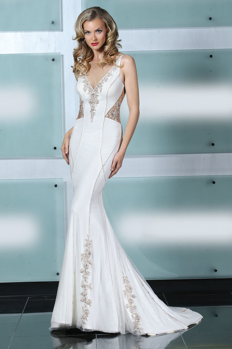 90226 gown from the 2015 Simone Carvalli collection, as seen on Bride.Canada