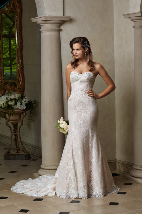 Isadora gown from the 2015 Wtoo Brides collection, as seen on Bride.Canada