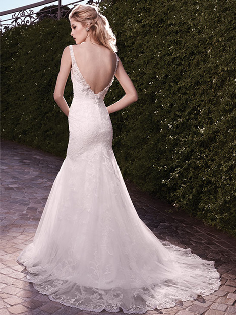 2135 (back) gown from the 2010 Casablanca Bridal collection, as seen on Bride.Canada