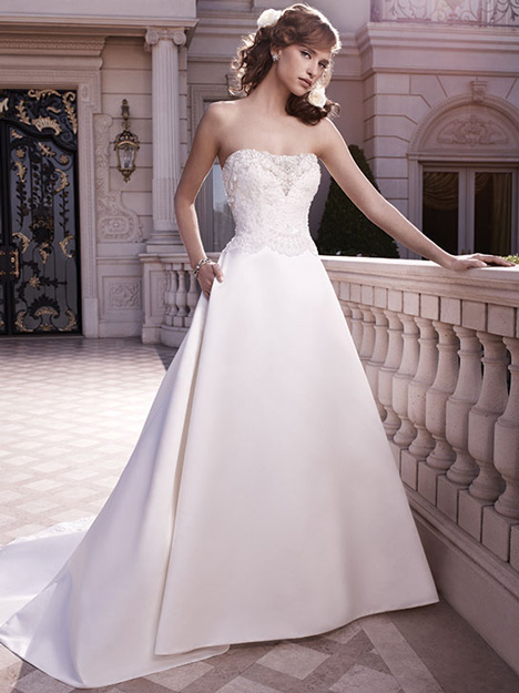 2130 gown from the 2010 Casablanca Bridal collection, as seen on Bride.Canada