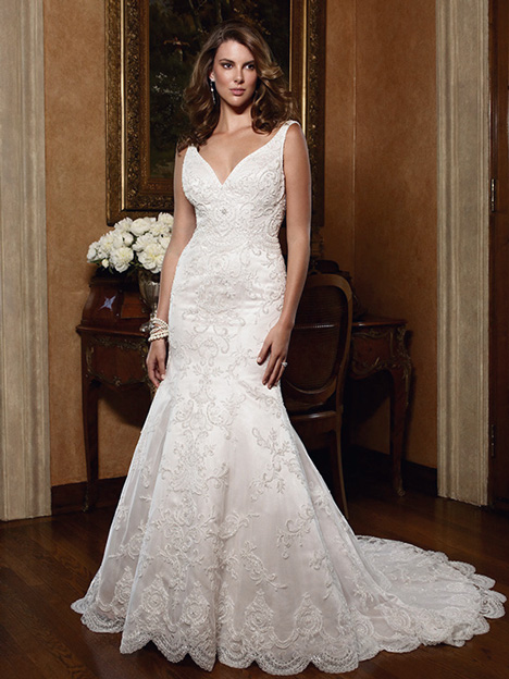 2030 gown from the 2011 Casablanca Bridal collection, as seen on Bride.Canada