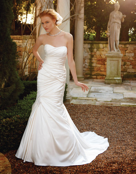 2037 gown from the 2011 Casablanca Bridal collection, as seen on Bride.Canada