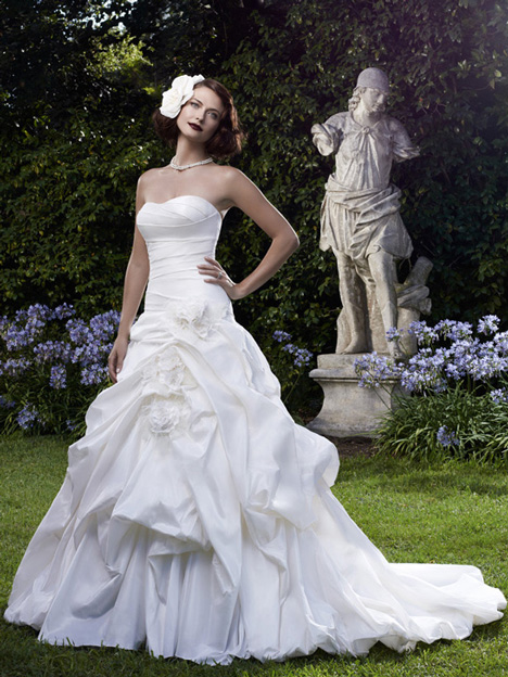 2059 gown from the 2012 Casablanca Bridal collection, as seen on Bride.Canada