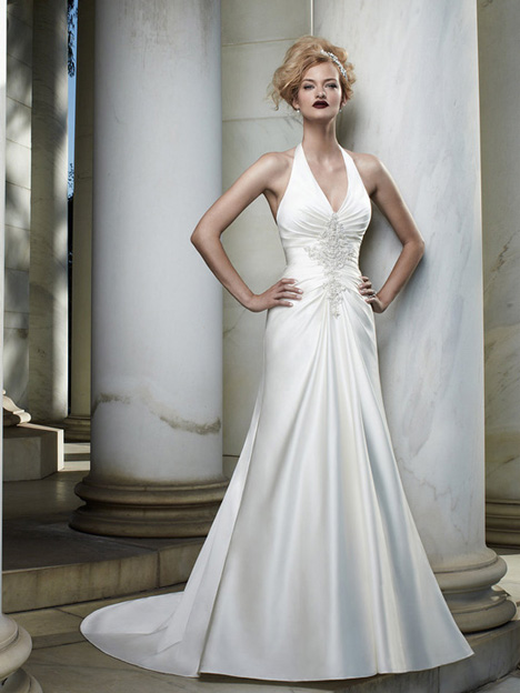 2060 gown from the 2012 Casablanca Bridal collection, as seen on Bride.Canada