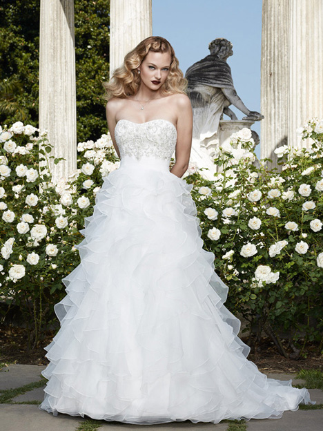 2068 gown from the 2012 Casablanca Bridal collection, as seen on Bride.Canada