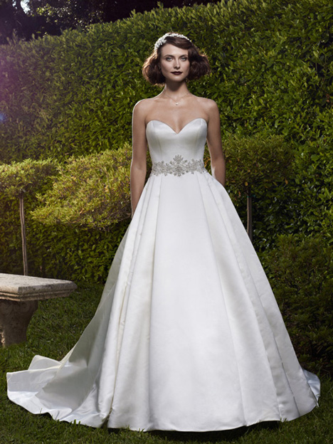 2073 gown from the 2012 Casablanca Bridal collection, as seen on Bride.Canada