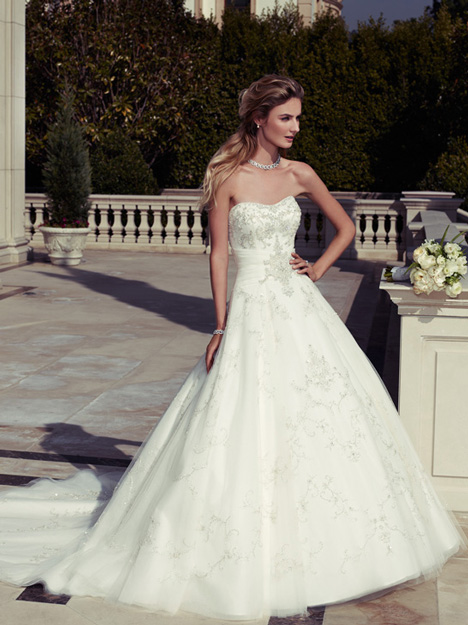 2098 gown from the 2012 Casablanca Bridal collection, as seen on Bride.Canada