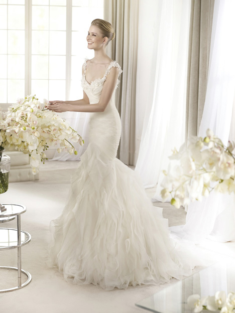 Arola gown from the 2013 St. Patrick collection, as seen on Bride.Canada