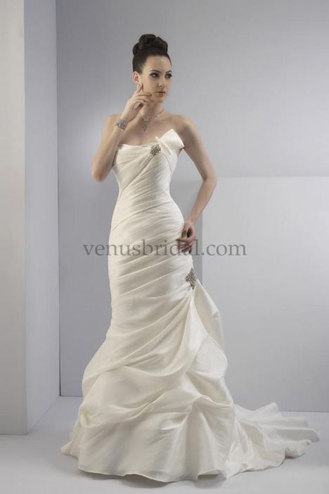 9021 gown from the 2012 Venus Bridal collection, as seen on Bride.Canada