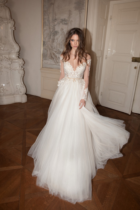 gown from the 2015 Berta Bridal collection, as seen on Bride.Canada