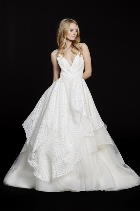 Bahati gown from the 2015 Hayley Paige collection, as seen on Bride.Canada