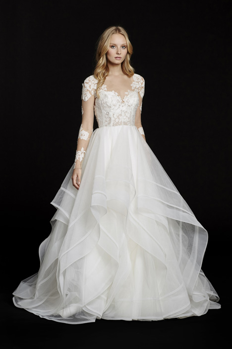 Elysia gown from the 2015 Hayley Paige collection, as seen on Bride.Canada