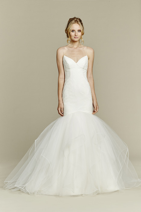 Bianca gown from the 2015 Blush by Hayley Paige collection, as seen on Bride.Canada