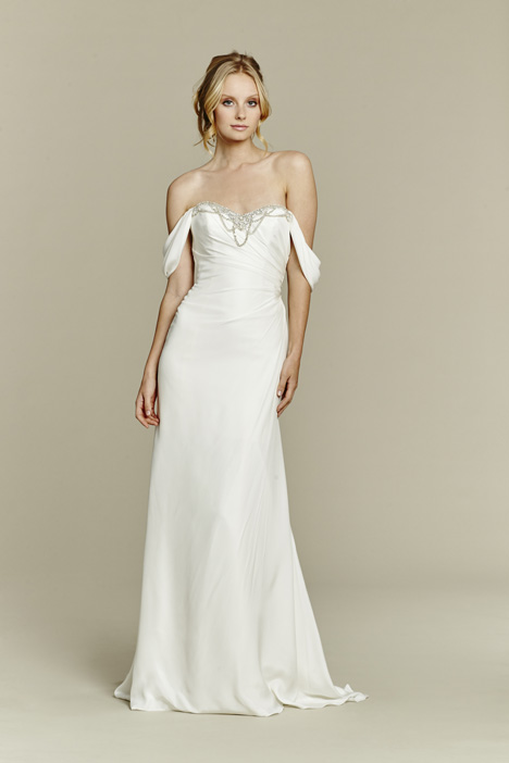 Ember gown from the 2015 Blush by Hayley Paige collection, as seen on Bride.Canada