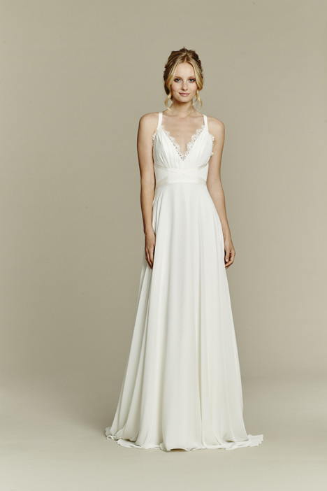 Palermo gown from the 2015 Blush by Hayley Paige collection, as seen on Bride.Canada