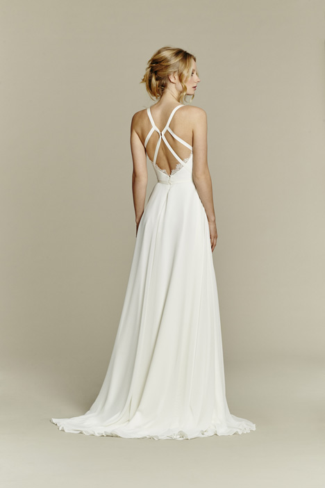 Palermo (back) gown from the 2015 Blush by Hayley Paige collection, as seen on Bride.Canada