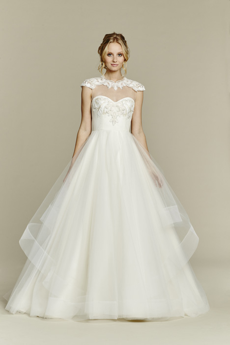 Nova gown from the 2015 Blush by Hayley Paige collection, as seen on Bride.Canada