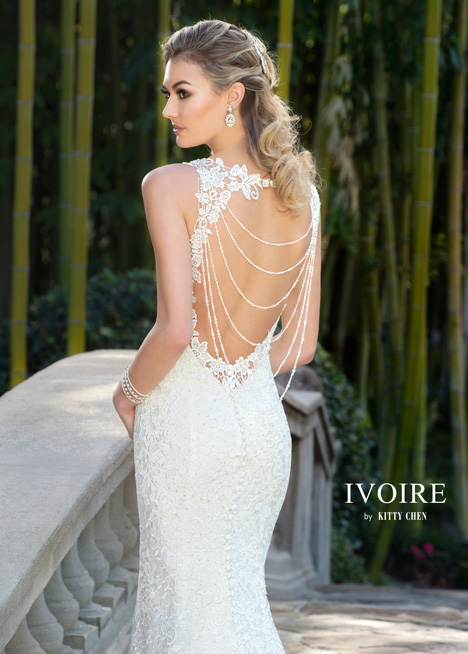 Whitney (2) gown from the 2016 Ivoire by Kitty Chen collection, as seen on Bride.Canada