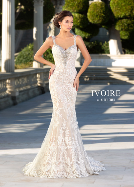 Makayla gown from the 2016 Ivoire by Kitty Chen collection, as seen on Bride.Canada