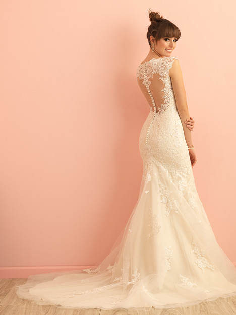 gown from the 2015 Allure Romance collection, as seen on Bride.Canada