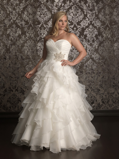 gown from the 2013 Allure Women collection, as seen on Bride.Canada