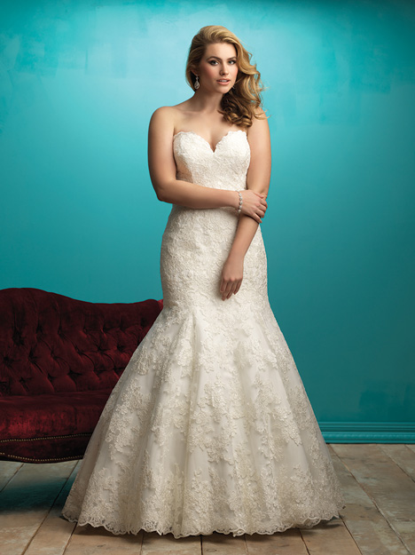 W360 gown from the 2015 Allure Bridals : Allure Women collection, as seen on Bride.Canada