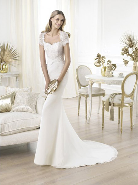Lamas gown from the 2014 Pronovias collection, as seen on Bride.Canada