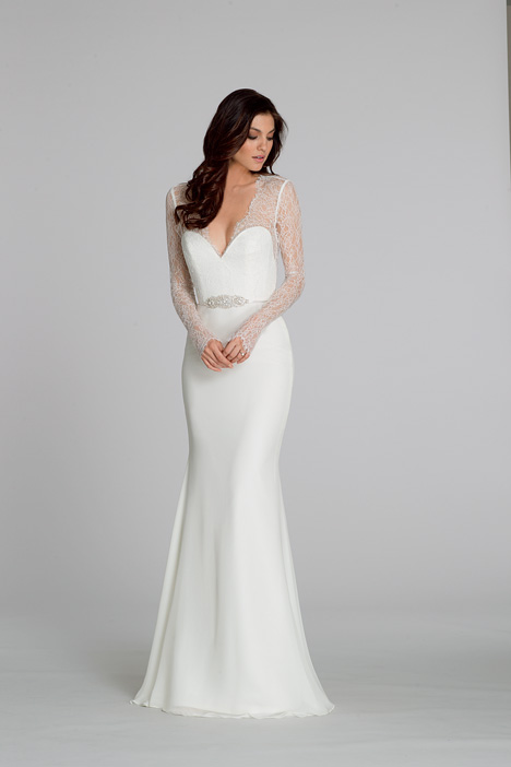 2551 gown from the 2015 Tara Keely collection, as seen on Bride.Canada