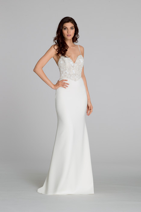 2555 gown from the 2015 Tara Keely collection, as seen on Bride.Canada