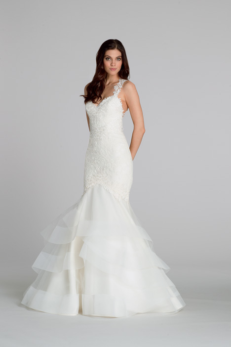 gown from the 2015 Tara Keely by Lazaro collection, as seen on Bride.Canada