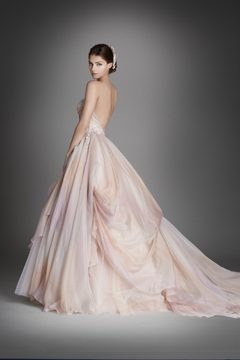 gown from the 2015 Lazaro collection, as seen on Bride.Canada