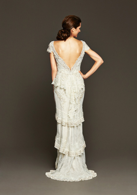 Harlow (2) gown from the 2015 Badgley Mischka Bride collection, as seen on Bride.Canada