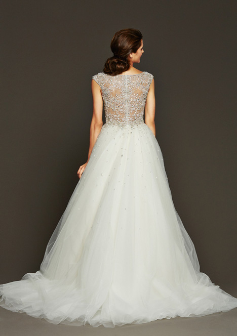 Horne (2) gown from the 2015 Badgley Mischka Bride collection, as seen on Bride.Canada