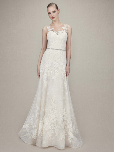 Karina gown from the 2016 Enzoani collection, as seen on Bride.Canada