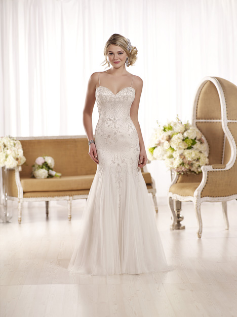 D1853 gown from the 2016 Essense of Australia collection, as seen on Bride.Canada