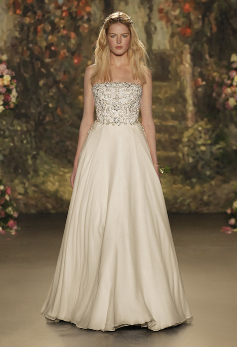 Patience gown from the 2016 Jenny Packham collection, as seen on Bride.Canada