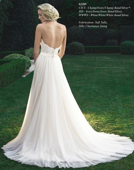 2205 (2) gown from the 2015 Casablanca Bridal collection, as seen on Bride.Canada