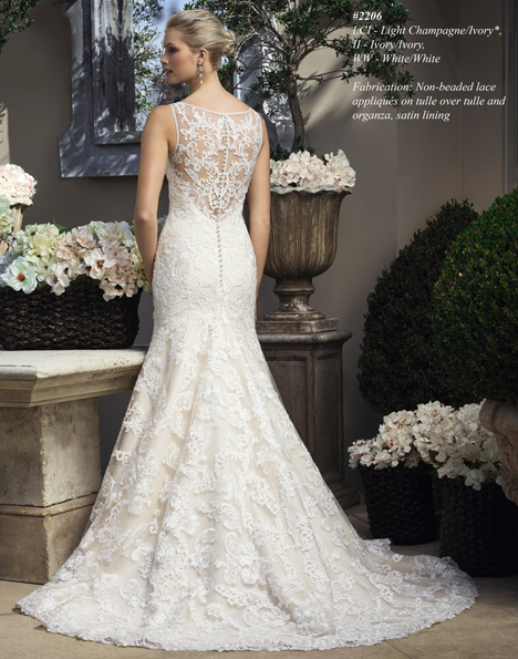 2206 (2) gown from the 2015 Casablanca Bridal collection, as seen on Bride.Canada
