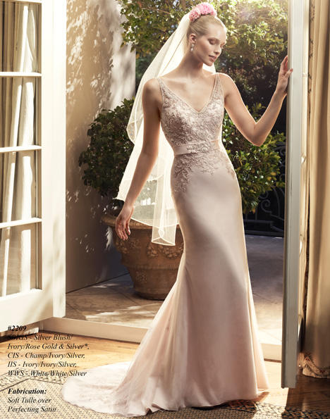 2209 gown from the 2015 Casablanca Bridal collection, as seen on Bride.Canada