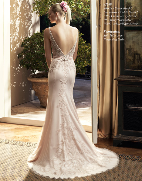 2209 (2) gown from the 2015 Casablanca Bridal collection, as seen on Bride.Canada
