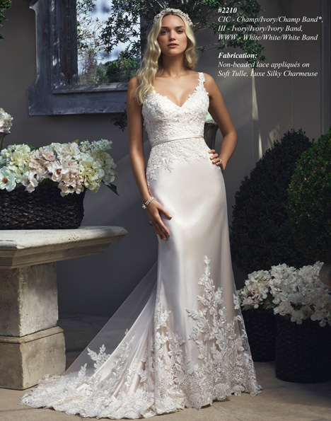 2210 gown from the 2015 Casablanca Bridal collection, as seen on Bride.Canada