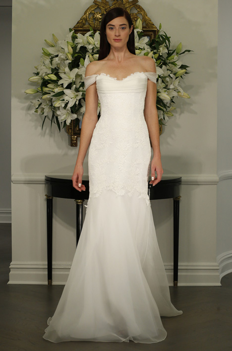 L5131 gown from the 2015 Legends Romona Keveza collection, as seen on Bride.Canada