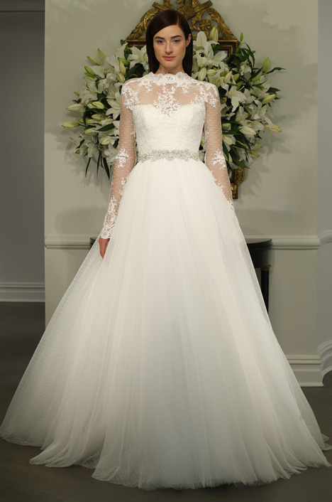 L5135 gown from the 2015 Legends Romona Keveza collection, as seen on Bride.Canada