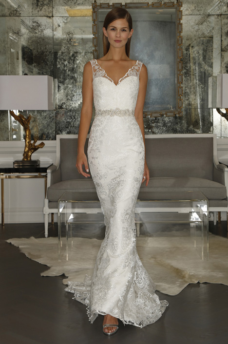 RK5448 gown from the 2015 Romona Keveza Collection collection, as seen on Bride.Canada