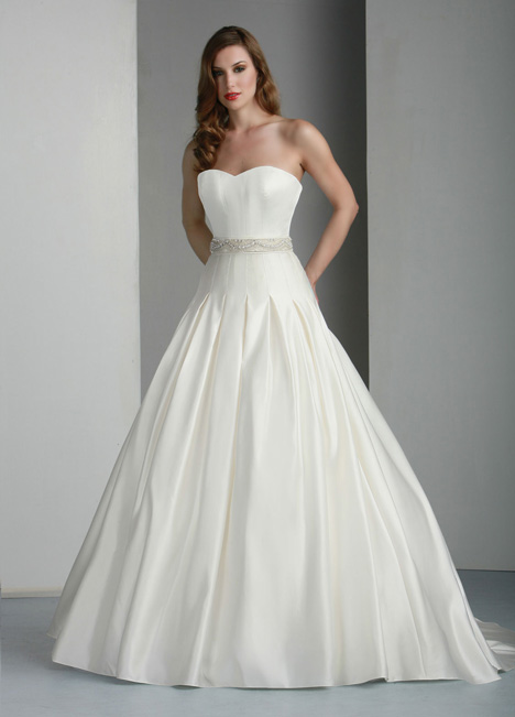 50013 gown from the 2014 DaVinci collection, as seen on Bride.Canada